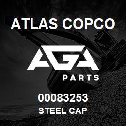00083253 Atlas Copco STEEL CAP | AGA Parts