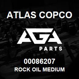 00086207 Atlas Copco ROCK OIL MEDIUM | AGA Parts