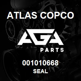 001010668 Atlas Copco SEAL | AGA Parts