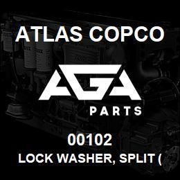00102 Atlas Copco LOCK WASHER, SPLIT (5/8
