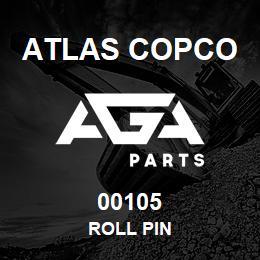 00105 Atlas Copco ROLL PIN | AGA Parts