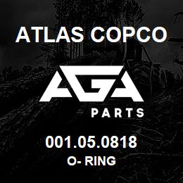 001.05.0818 Atlas Copco O- RING | AGA Parts