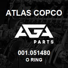 001.051480 Atlas Copco O RING | AGA Parts