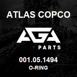 001.05.1494 Atlas Copco O-RING | AGA Parts