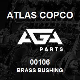 00106 Atlas Copco BRASS BUSHING | AGA Parts
