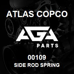 00109 Atlas Copco SIDE ROD SPRING | AGA Parts