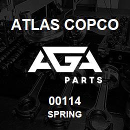 00114 Atlas Copco SPRING   AGA Parts
