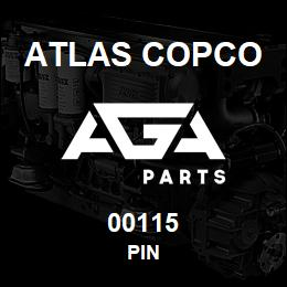 00115 Atlas Copco PIN | AGA Parts