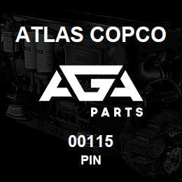 00115 Atlas Copco PIN | AGA Parts