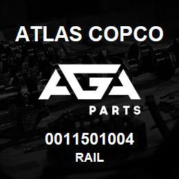 0011501004 Atlas Copco RAIL | AGA Parts