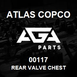 00117 Atlas Copco REAR VALVE CHEST | AGA Parts