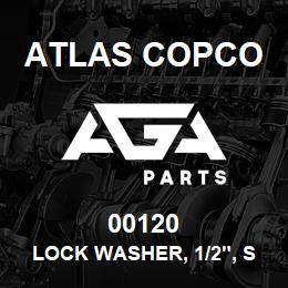 00120 Atlas Copco LOCK WASHER, 1/2