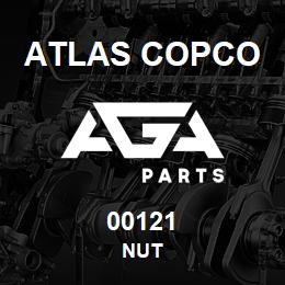 00121 Atlas Copco NUT | AGA Parts