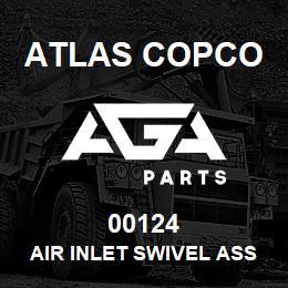 00124 Atlas Copco AIR INLET SWIVEL ASSY, M190 | AGA Parts