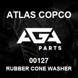 00127 Atlas Copco RUBBER CONE WASHER | AGA Parts