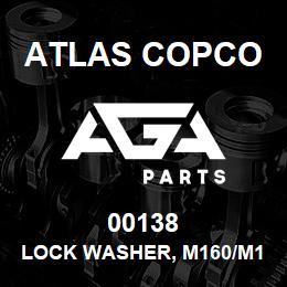 00138 Atlas Copco LOCK WASHER, M160/M190 | AGA Parts
