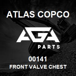 00141 Atlas Copco FRONT VALVE CHEST | AGA Parts