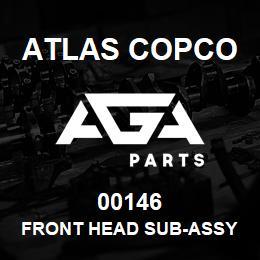 00146 Atlas Copco FRONT HEAD SUB-ASSY 1-1/8