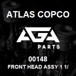00148 Atlas Copco FRONT HEAD ASSY 1 1/8