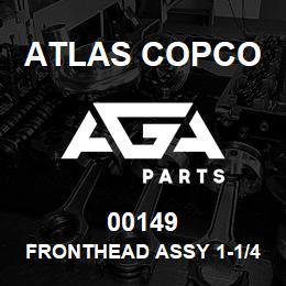 00149 Atlas Copco FRONTHEAD ASSY 1-1/4