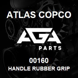 00160 Atlas Copco HANDLE RUBBER GRIP   AGA Parts