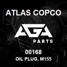 00168 Atlas Copco OIL PLUG, M155 | AGA Parts