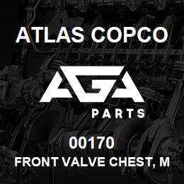 00170 Atlas Copco FRONT VALVE CHEST, M160 | AGA Parts