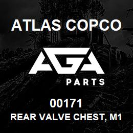 00171 Atlas Copco REAR VALVE CHEST, M160 | AGA Parts
