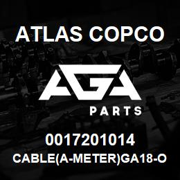0017201014 Atlas Copco CABLE(A-METER)GA18-OPTIONS | AGA Parts