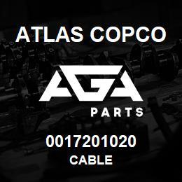 0017201020 Atlas Copco CABLE | AGA Parts