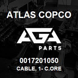 0017201050 Atlas Copco CABLE, 1- C.ORE | AGA Parts
