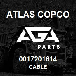 0017201614 Atlas Copco CABLE | AGA Parts