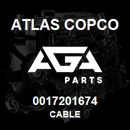 0017201674 Atlas Copco CABLE | AGA Parts