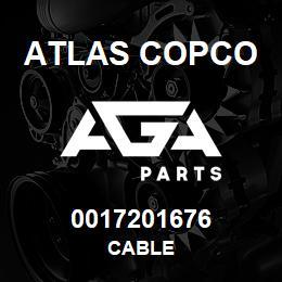 0017201676 Atlas Copco CABLE | AGA Parts
