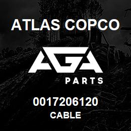 0017206120 Atlas Copco CABLE | AGA Parts
