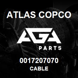 0017207070 Atlas Copco CABLE | AGA Parts