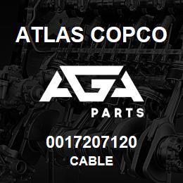 0017207120 Atlas Copco CABLE | AGA Parts