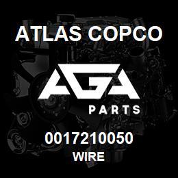 0017210050 Atlas Copco WIRE | AGA Parts