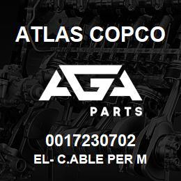 0017230702 Atlas Copco EL- C.ABLE PER M | AGA Parts