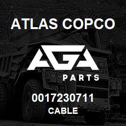 0017230711 Atlas Copco CABLE | AGA Parts