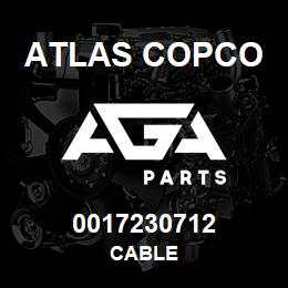 0017230712 Atlas Copco CABLE | AGA Parts