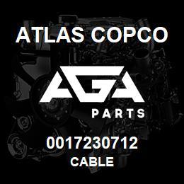 0017230712 Atlas Copco CABLE | AGA Parts