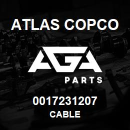 0017231207 Atlas Copco CABLE | AGA Parts