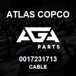 0017231713 Atlas Copco CABLE | AGA Parts
