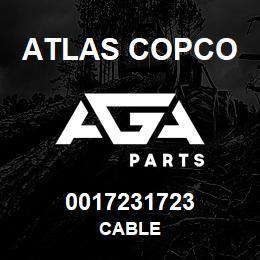 0017231723 Atlas Copco CABLE | AGA Parts