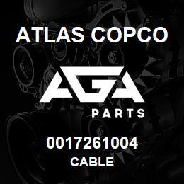 0017261004 Atlas Copco CABLE | AGA Parts