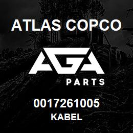 0017261005 Atlas Copco KABEL | AGA Parts