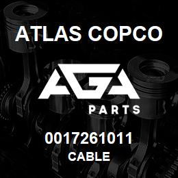 0017261011 Atlas Copco CABLE | AGA Parts
