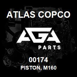 00174 Atlas Copco PISTON, M160 | AGA Parts