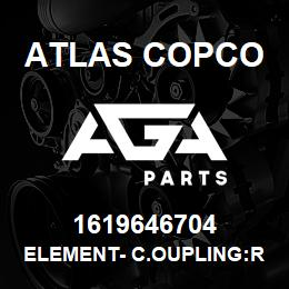 1619646704 Atlas Copco ELEMENT- C.OUPLING:RUBBER, ZR4 | AGA Parts